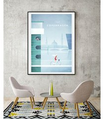 kopenhaga - vintage plakat 50x70 cm