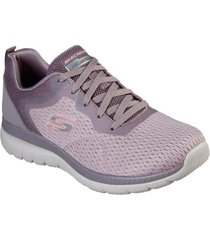 zapatos mujer  bountiful - quick path morado skechers