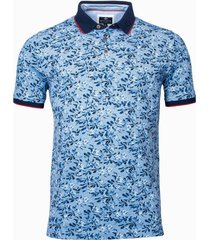 baileys poloshirt blauw regular fit 115259/19
