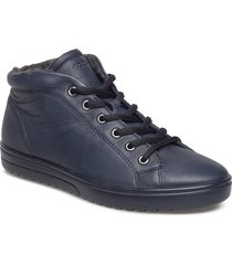 fara shoes boots ankle boots ankle boot - flat blå ecco