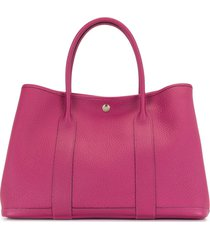 hermès 2018 pre-owned garden party tote bag - pink