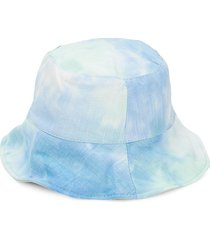 lulla collection by bindya women's ombre bucket hat - mint