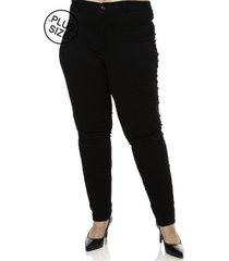 calça casual plus size feminina
