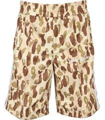 palm angels desert camo track shorts