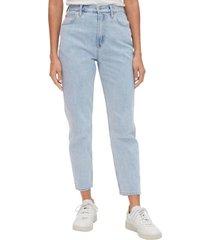jeans mom light indigo celeste gap