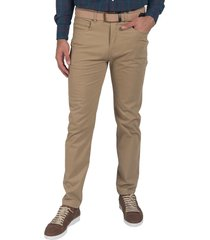 pantalon beige oxford polo club clint