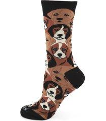 women's puppers bamboo crew socks