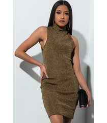 akira get the picture metallic bodycon mini dress