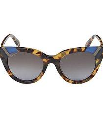 tokyo 50mm cat eye sunglasses