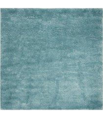 "safavieh colorado beach turquoise 6'7"" x 6'7"" square area rug"