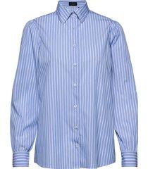 8750 - loreto overhemd met lange mouwen blauw sand