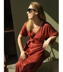 sukienka rita red ochra