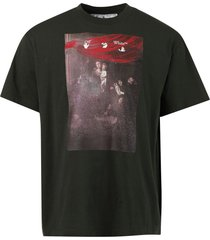 sprayed caravaggio t-shirt,