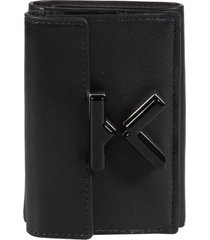 kenzo k trifold buttoned wallet