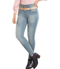 jeans colombianos con efecto push up sagitario azul tyt jeans