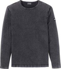 maglione con scollo rotondo (grigio) - rainbow