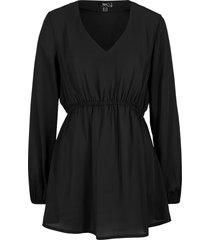 tunica a maniche lunghe (nero) - bpc bonprix collection