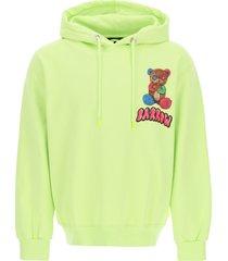 barrow teddy bear print hoodie