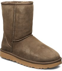 w classic short ii shoes boots ankle boots ankle boots flat heel brun ugg