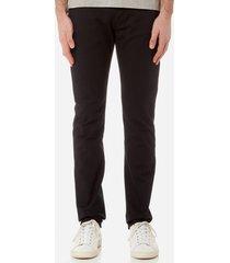 emporio armani men's gabiano trousers - black - w36/l30 - black