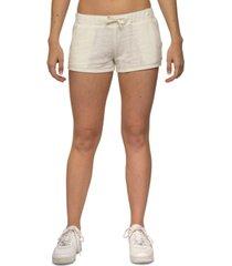 hurley juniors' burn out fleece shorts