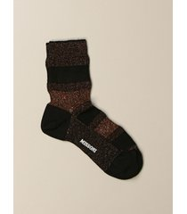 missoni socks missoni socks in lurex knit with bands