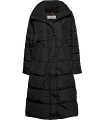 coat not wool gevoerde lange jas zwart gerry weber edition