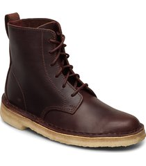 desert mali. shoes boots ankle boots ankle boot - flat brun clarks originals