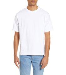 men's bp. oversize crewneck t-shirt, size large - white
