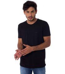 camiseta osmoze gola careca z 110112805 preto
