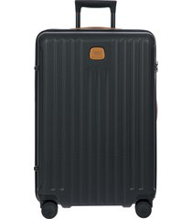 men's bric's capri 2.0 27-inch expandable rolling suitcase - black