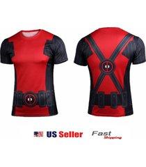 superhero deadpool halloween costume tee sports jersey shirt