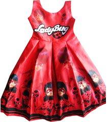 vestido lady bug patatitas i29 rojo