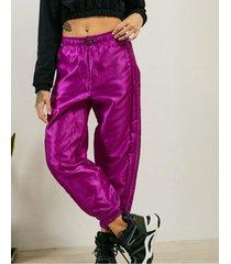 pantalón violeta 47 street moon k.