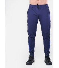 pantalon tipo jogger palmeira imparable- azul oscuro rey saeta