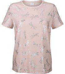 topp delmod rosa::silverfärgad