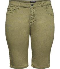 carsarah life reg short pnt shorts chino shorts grön only carmakoma