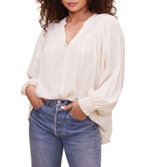 women's astr the label piper peasant top