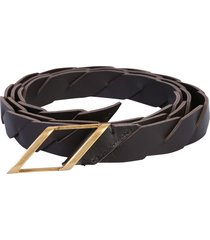 bottega veneta belt with buckle