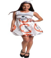 buy seasons women's star wars: the force awakens - bb-8 romper costume