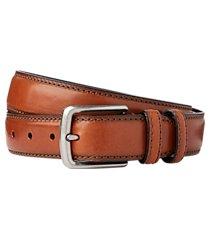 jos. a. bank stitch-edged leather belt
