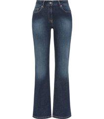 bio-jeans bootcut, darkblue 40/l32