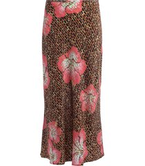 rixo kelly skirt in hawaii giraffe print