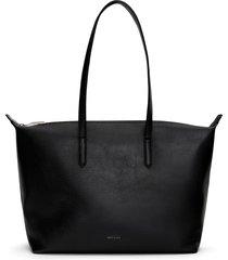 matt & nat abbi tote bag, black