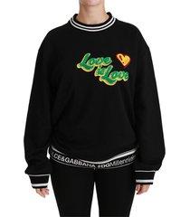 black de liefde is liefde trui top trui