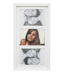 painel insta para 3 fotos com paspatur 18x38cm branco