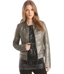 denise jacket - guess - jassen - grijs