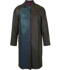 sies marjan blaine reflective coat - purple