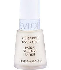 base secagem rápida revlon nail care base coat 14,7ml
