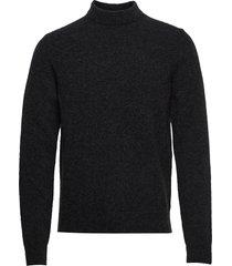m. yak r-neck sweater gebreide trui met ronde kraag grijs filippa k